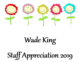 Staff Appreciation Week - May 6th to 10th