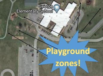 Playground Zones by Classes
