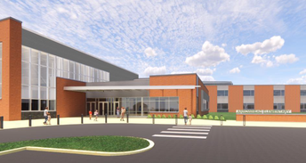 Rendering of new Arrowhead Elementary School