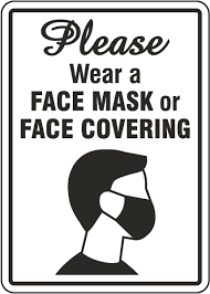 Important Information about Face Coverings