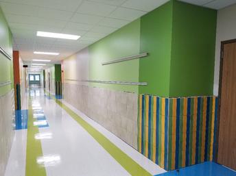 Lakeway Elementary School hallway
