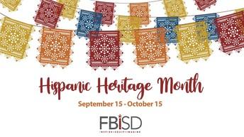 We Recognize Hispanic Heritage Month