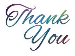Thank you from the Ladies Guild