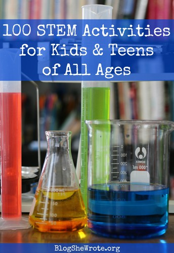 100 Stem Projects for Kids and Teens of All Kinds
