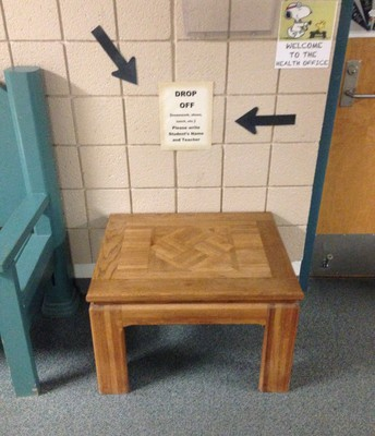 Drop Off Table....