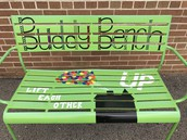 We have a Buddy Bench courtesy of Ameriprise Financial!