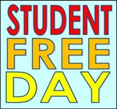 Student Free Day on Friday, October 23rd