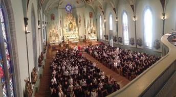 All School Mass during CSW