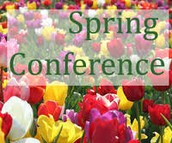 Sign Up Genius Links for Spring Conferences
