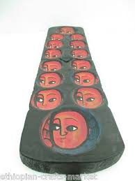 Traditional Ethiopian Mancala Board