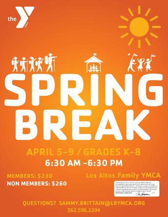 YMCA Spring Break Program