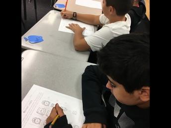 Math work in 5th grade