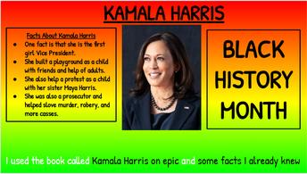 Kamala Harris - First Black/Asian Female Vice President of USA