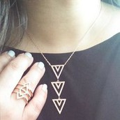 Pave Spear Necklace - $25