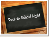 Back to School Night - September 17, 2019