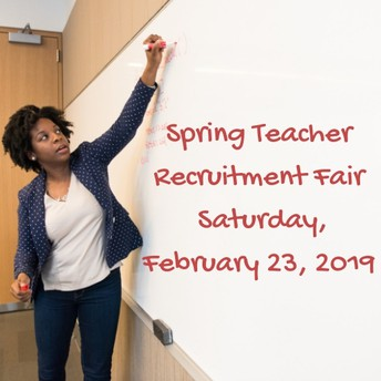 Spring Teacher Recruitment Fair