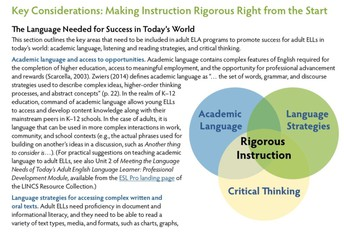 Seidlitz Training; Academic Language!