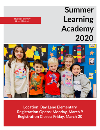 Summer Learning Academy 2020