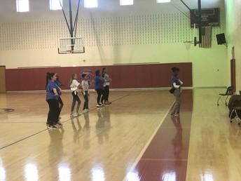 Carver Middle School Dance Practice