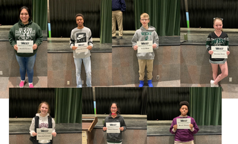 9th Grade Students of the Month
