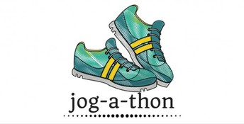 Gearing up for the Jogathon, 10/18