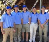 Varsity Boys Golf gets 4th at Hallsville Fall Classic