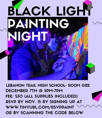 Black Light Painting Night