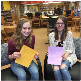 8th Grade Writing Awards!