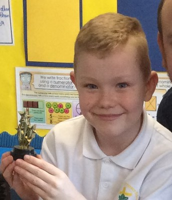 Y3/4 Spelling Bee winner
