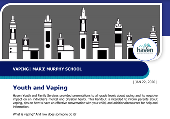 Using Vaping Dangers to Teach Responsible Decision-Making & Self-Management