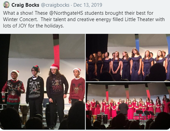 Choir entertains year-round, in the community and on stage