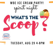 Spirit Night @ What's the Scoop