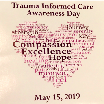 Trauma-Informed Awareness Day: May 15