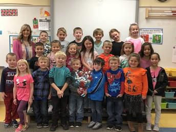 Miss Asper's Class - October Champs