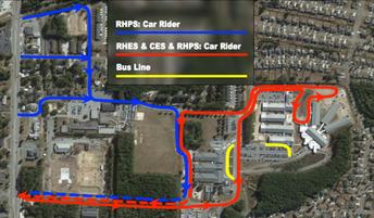 Traffic Patterns for RHPS/RHES/GWC