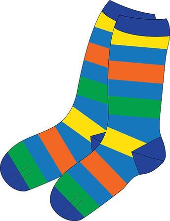 Socks for Cabot