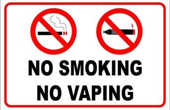 No Smoking/Vaping Reminder