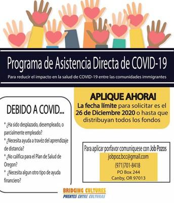 Programa de Asistencia Directa del COVID-19