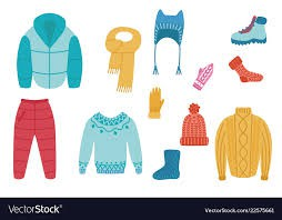 Clothing recommendations for cooler weather