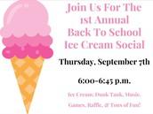 Ice Cream Social & Raffle