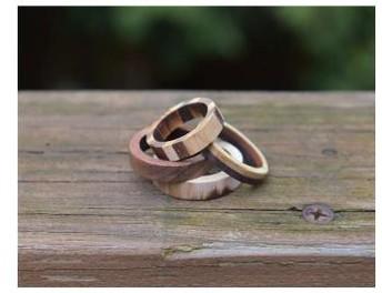 Ella Olsen, Wooden Rings - Jewelry