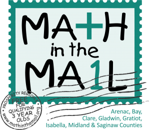 Math in the mail Delivers Fun Foundational Math to Homes of Three Year Olds
