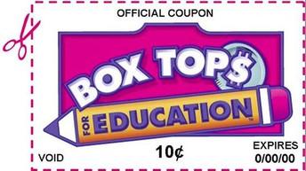 Box Tops...Bring 'Em In!