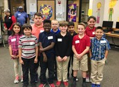 4th Grade Spelling Bee Contestants