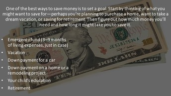 Monthly Tips for Saving Money