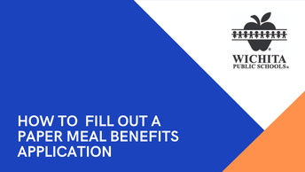 How to Fill out a Paper Meal Benefits Application