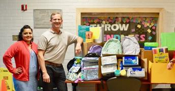 Edison Receives School Supply Donation