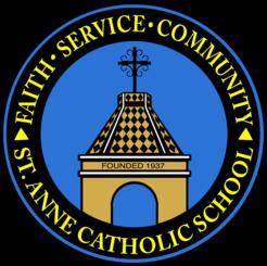 THANKS ST. ANNE CATHOLIC SCHOOL