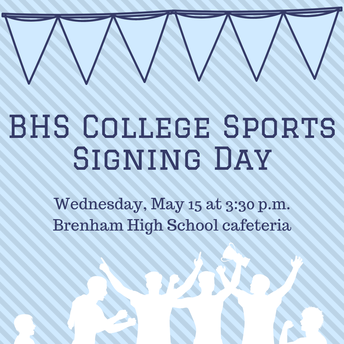 Brenham High School to host all sports signing day