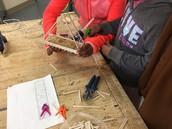 Bridge Construction in 7th Grade GTT Classes